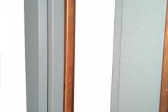 Finestra in legno e alluminio RAL
