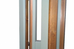 Finestra in legno e alluminio
