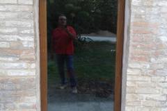 finestra a vetro ad arco