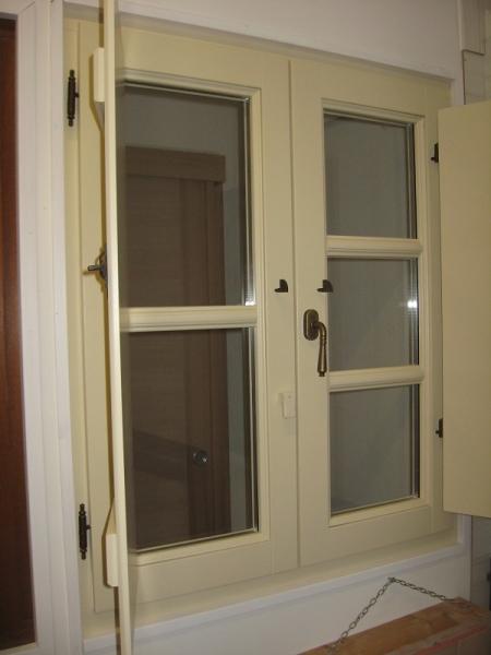 Finestre con scuri interni simple eco quadra finestra a battente con doppio vetro in alluminio - Pellicola riflettente per finestre ...