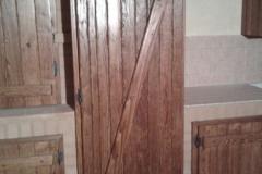 Sportello frigorifero rustico