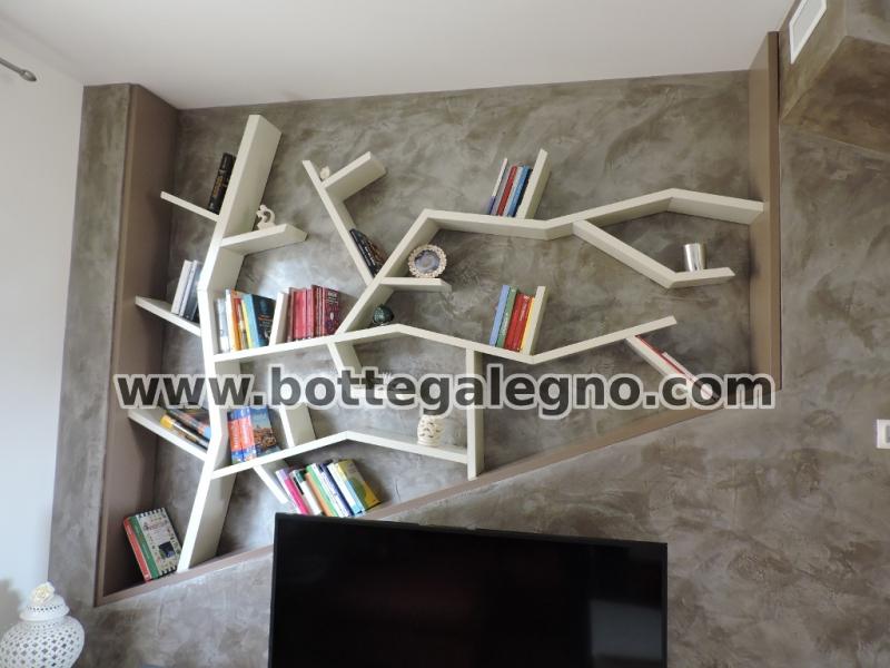 Libreria ad albero u idea immagine home