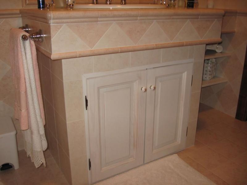 Images tagged muratura - Costruire mobile bagno ...