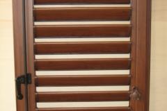 alluminio finto legno orientabile