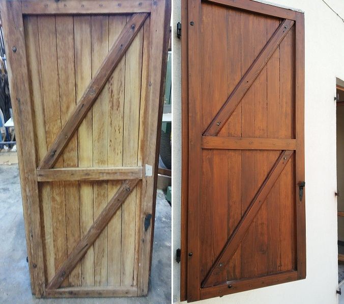 Ristrutturazione persiane in legno restauro infissi - Ristrutturazione finestre in legno ...