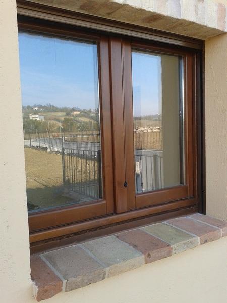 Finestre in legno recupero fiscale risparmio energetico - Finestre in legno gia pronte ...